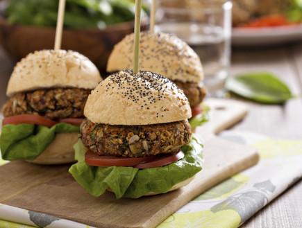 המבורגר צמחוני (צילום: אימג'בנק / Thinkstock)