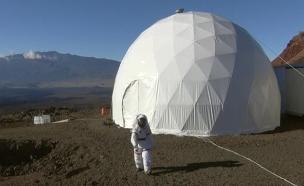 ניסוי מאדים בהוואי (צילום: אוניברסיטת הוואי)