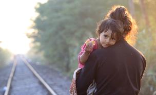 פליטה סורית (צילום: חדשות 2)