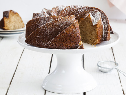 עוגת דבש, שקדים ולימון