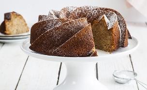 עוגת דבש, שקדים ולימון  (צילום: אסף אמברם, אוכל טוב)