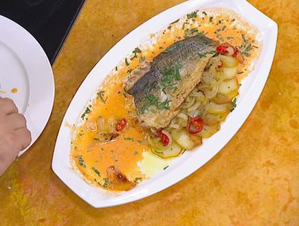דג של מסימיליאנו די מטאו (צילום: קשת)