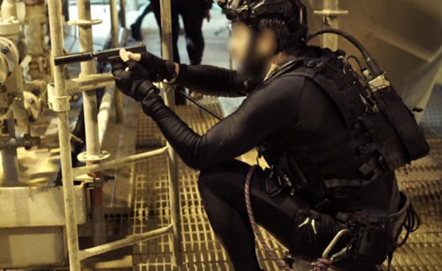 """הלוחמים באימון (צילום: דו""""צ)"""
