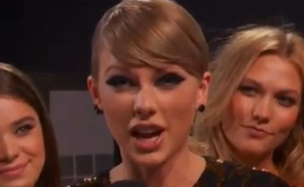 טיילור סוויפט  (צילום: צילום מסך MTV)