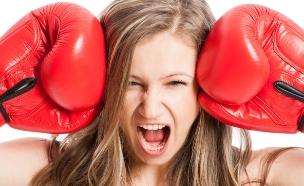 משפטים שאסור לומר לבחורה - מתאגרפת (צילום: Shutterstock, מעריב לנוער)