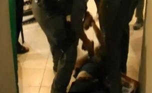 """""""אלימות משטרתית לשמה"""". ארכיון (צילום: חדשות 2)"""