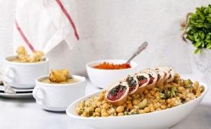 רולדת עוף - הארוחה המלאה (צילום: אסף אמברם, אוכל טוב)