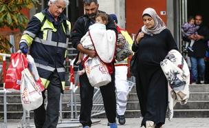 מהגרים במינכן (צילום: רויטרס)
