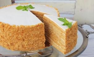 עוגת מדוביק (צילום: אסתי רותם, אוכל טוב)