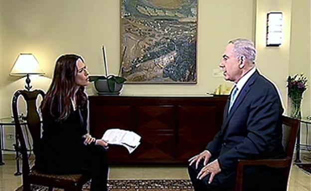 נתניהו בריאיון ליונית לוי, ארכיון (צילום: חדשות 2)