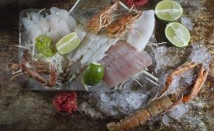 דגים על קרח בבסטה (צילום: אנטולי מיכאלו, אוכל טוב)
