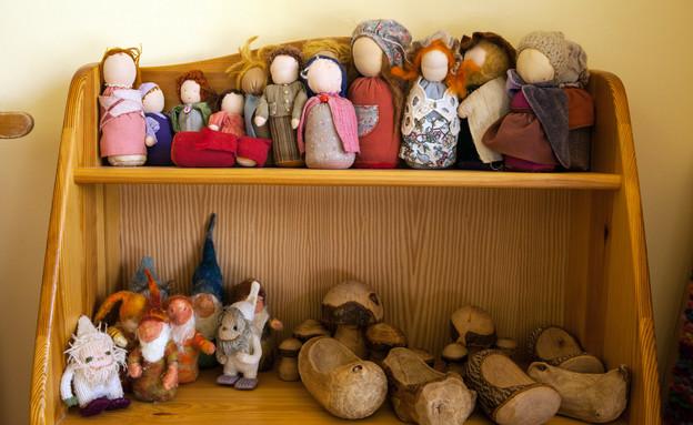 גני ילדים 27, הרדוף, רהיטים, גימורים ואלמנטים בעבודת יד (צילום: תכנון-דרור צור, צילום אסף רונן)