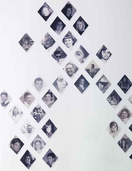 בלי מסגרת, ערכו ופתחו את התמונות במעוינים וצרו יהלום משפחתי (צילום: marthastewart.com)