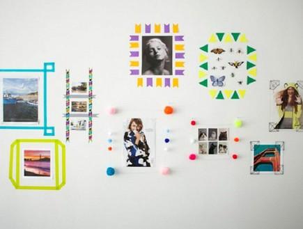 בלי מסגרת, צרו מסגרת דו ממדית בעצמכם  (צילום: topinspired.com)