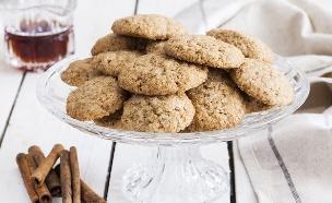 עוגיות ג'ינג'ר ומייפל (צילום: אסף אמברם, אוכל טוב)