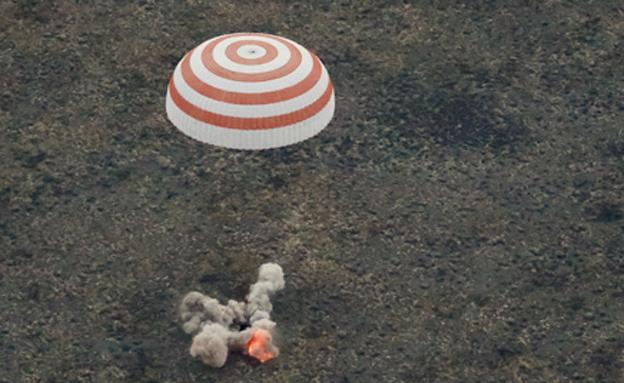 צבר ניסיון של 5 משימות חלל. פדלקה (צילום: רוטרס)
