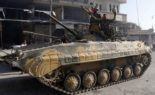רוסיה הודתה: מסייעים לצבא הסורי (צילום: רויטרס)