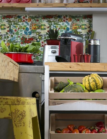 הפקת מטבח, מטבח אקלקטי  (צילום: שירן כרמל)
