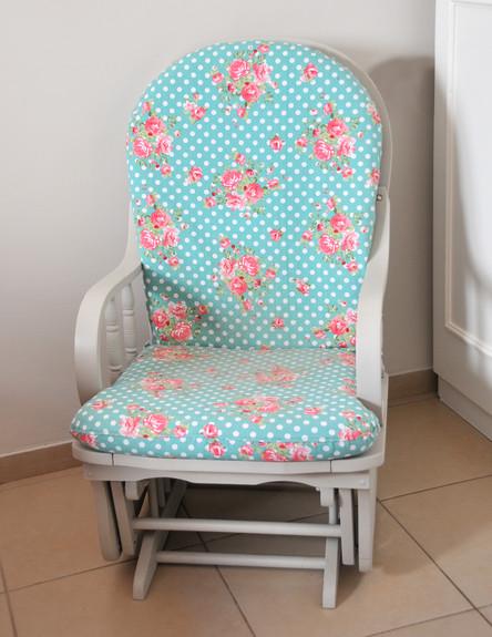 בית לבד 58, ג, כיסא נדנדה אחרי (צילום: מיכל יניב)