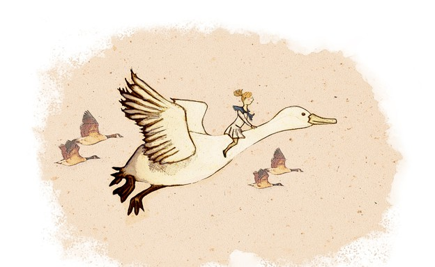 פתיחת העונה חולון, דניאלה קופלר - Her wonderful adventure'', הדפסה (צילום: באדיבות האמנית)