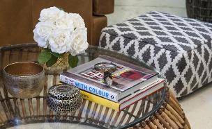 סידור שולחן,  גלריה בחצר מושב גיאה. סטיילינג מירב פרלמן (צילום: אורית אלפסי )