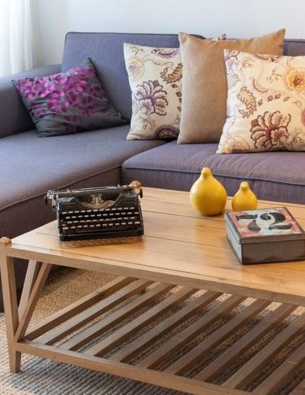 סידור שולחן, עיצוב והום סטיילינג מירב פרלמן (צילום: אורית אלפסי)