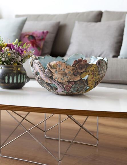 סידור שולחן, עיצוב ויקי עוזר (צילום: הגר דופלט)