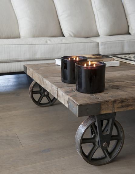 סידור שולחן, עיצוב יעל דרוקמן (צילום: אורית אלפסי)
