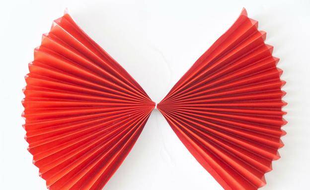 קישוטי סוכות, רוזטות נייר  (צילום: טטיאנה פאוטוב)