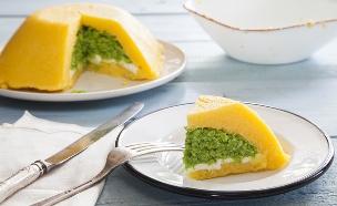 עוגת פולנטה (צילום: אסף אמברם, אוכל טוב)