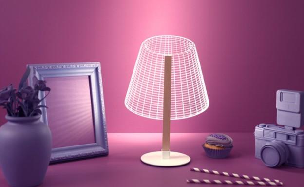 החמישייה 29.9, מנורה אשלייתית, (2) (צילום: סטודיו צ'חה)