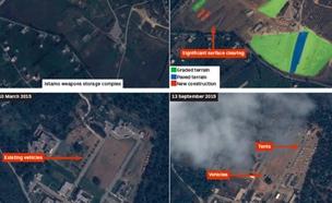 תמונות הלוויין מסוריה (ארכיון)