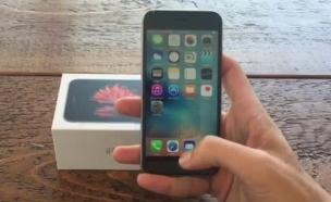 הצצה לאייפון 6s (צילום: אביב סביון)