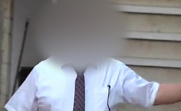 """שמו יפורסם? סגן ראש השב""""כ ר' (צילום: חדשות 2)"""