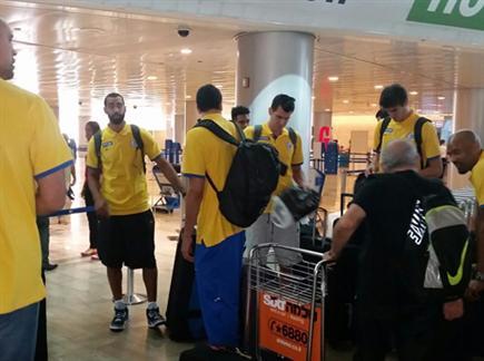 הצהובים מתכוננים להמראה (צילום: ספורט 5)
