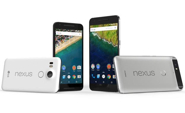 הסמארטפונים של גוגל - Nexus 6P ו-Nexus 5X (צילום: גוגל)