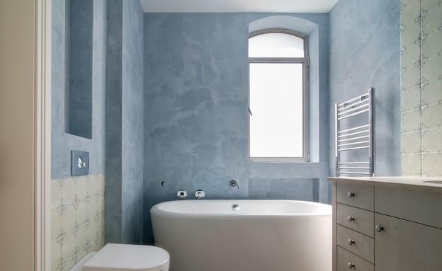 בית בבקעה חדר אמבטיה (צילום: אילן נחום)