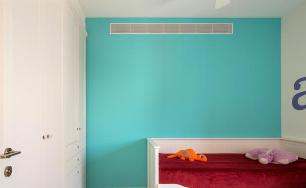 בית בבקעה חדר שינה ילדים (צילום: אילן נחום)