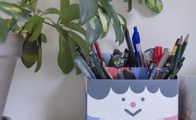 הדירה של מיקי וזיו, עטים (צילום: עומרי אמסלם)