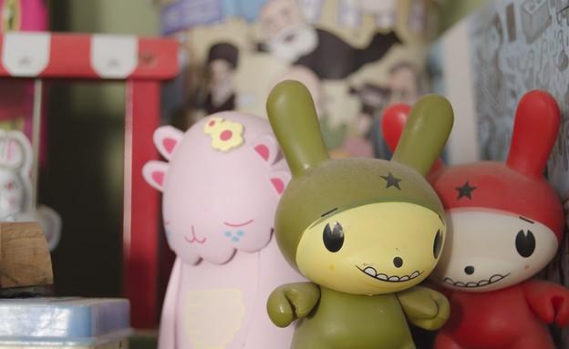 הדירה של מיקי וזיו,, בובות (צילום: עומרי אמסלם)