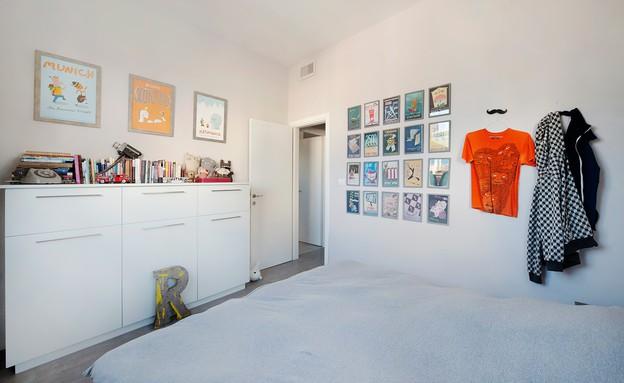 הדירה של מיקי וזיו, חדר שינה (2) (צילום: עומרי אמסלם)