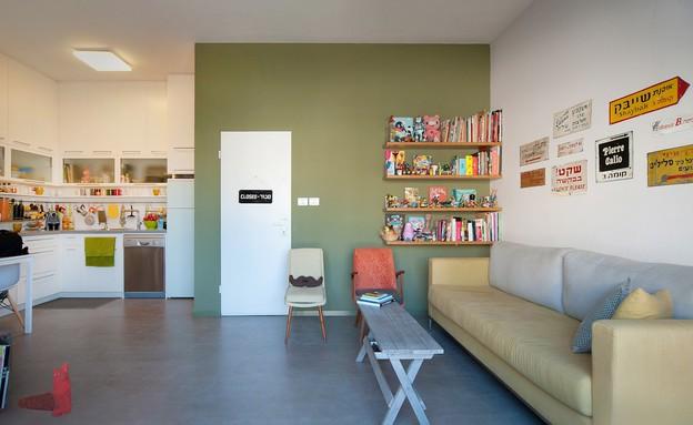 הדירה של מיקי וזיו, כניסה (צילום: עומרי אמסלם)