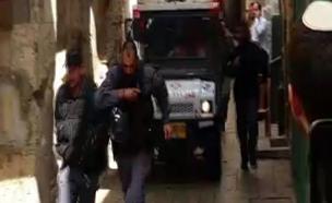 פיגוע בשער האריות בירושלים (צילום: חדשות 2)