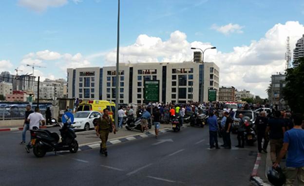 הפיגוע בתל אביב (צילום: עזרי עמרם, חדשות 2)