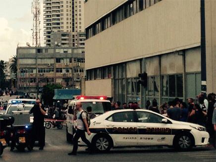 המחבל נורה ונהרג ברחוב מוזס הסמוך