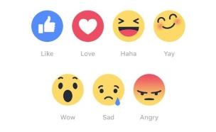 Facebook Reactions (איור:  Photo by Flash90, פייסבוק)