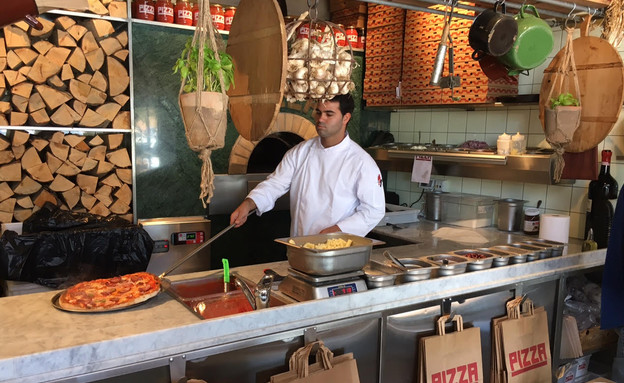 PIZZA אזורי חן תל אביב (צילום: ג'רמי יפה, אוכל טוב)