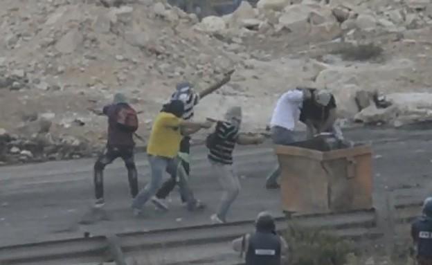 """מסתערבים בית אל (צילום: דובר צה""""ל)"""