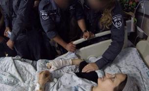 מפגש מרגש בבית החולים (צילום: חדשות 2)