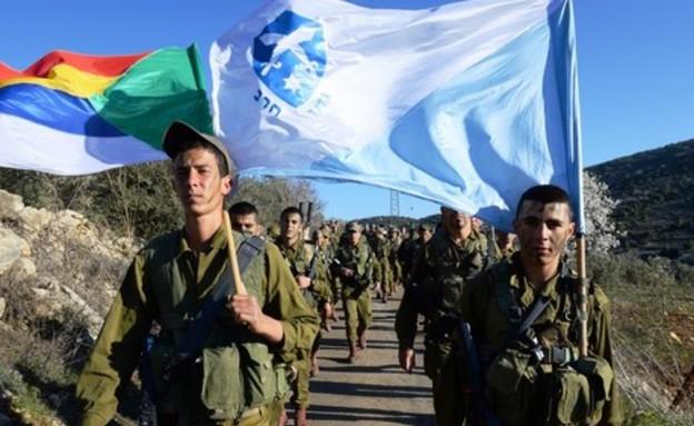 """גדוד חרב (צילום: דובר צה""""ל, באדיבות גרעיני החיילים)"""